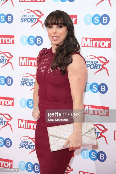 Beth Tweddle attends the Pride of Sport awards at Grosvenor House on November 22 2017 in London England