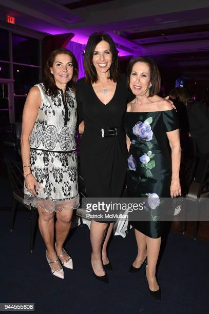 Beth Waldenberg Kelly Grunther and Andrea Lomasky attend the Alzheimer's Drug Discovery Foundation's Memories Matter at Pier 60 Chelsea Piers on...