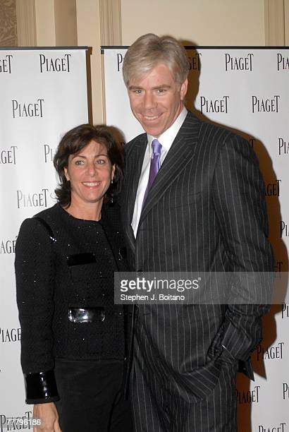 Beth Wilkinson and David Gregory pose at the Lions For Lambs screening After Party hosted by Piaget on November 7 2007 in Washington DC