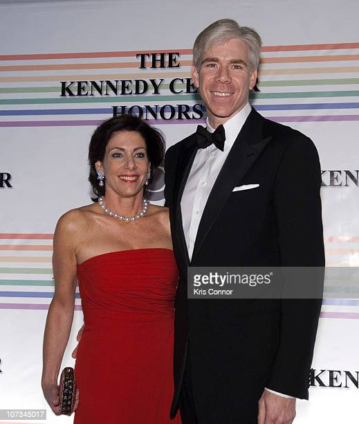 Beth Wilkinson and David Gregory pose for photos during the 33rd Annual Kennedy Center Honors at the Kennedy Center Hall of States on December 5 2010...