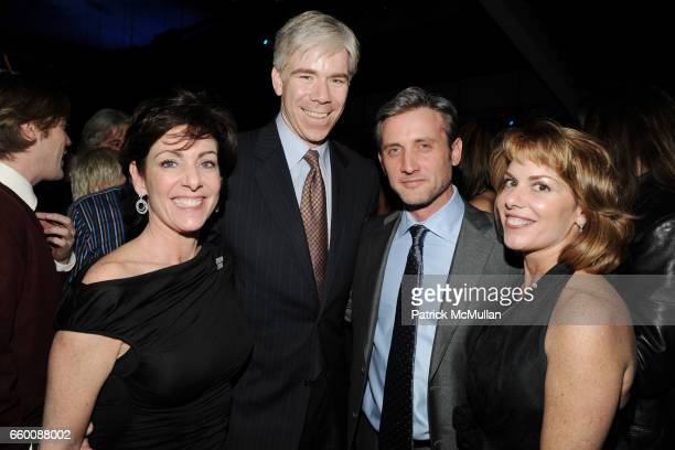 Beth Wilkinson David Gregory Dan Abrams and Lisa Applegate attend THE HUFFINGTON POST PreInaugural Ball at The Newseum on January 19 2009 in...