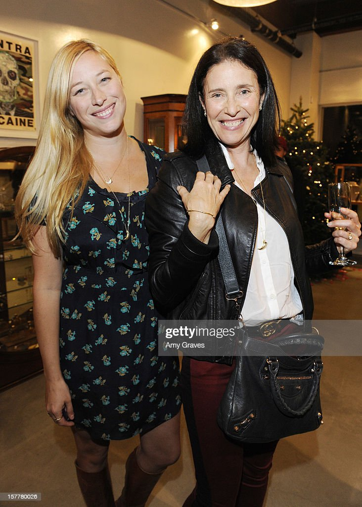 Beth Yorn and Mimi Rogers attend Beth Yorn's Jewelry Show at Roseark on December 5, 2012 in West Hollywood, California.