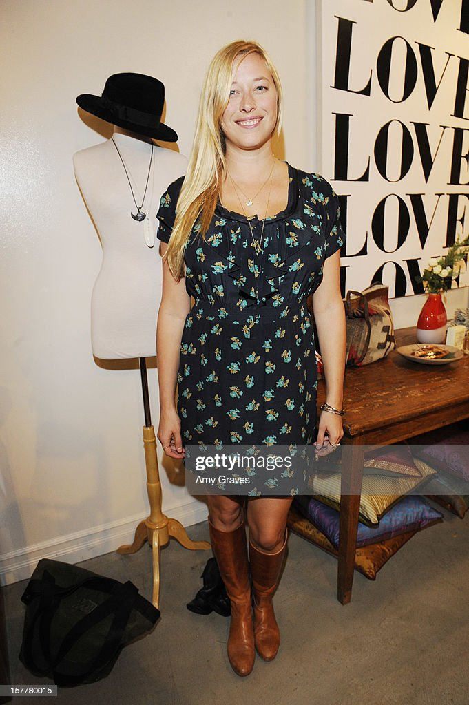 Beth Yorn attends her Jewelry Show at Roseark on December 5, 2012 in West Hollywood, California.