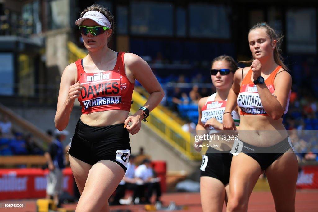Muller British Athletics Championships 2018 - Day Two : News Photo