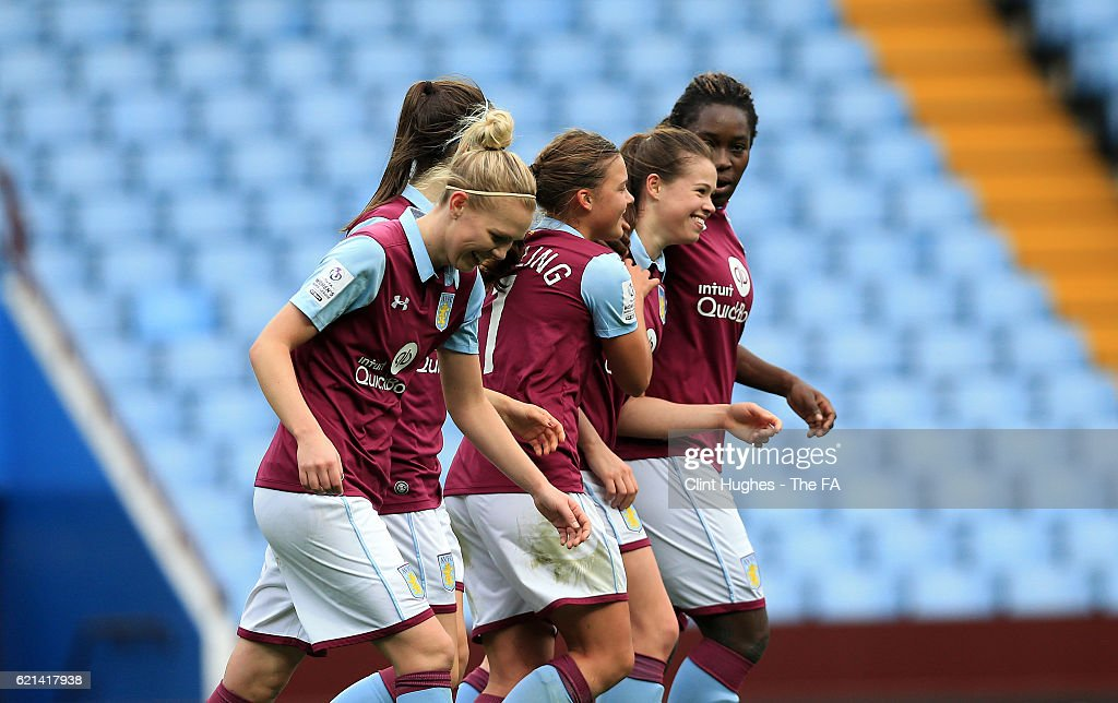 WSL 2: Aston Villa Ladies v Watford Ladies : News Photo