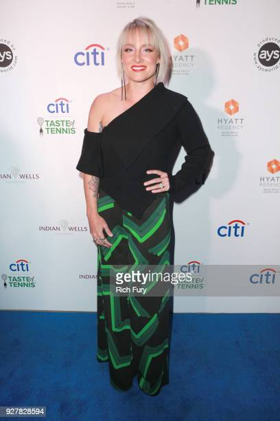 Bethanie MattekSands attends the Citi Taste of Tennis at Hyatt Regency Indian Wells Resort Spa on March 5 2018 in Indian Wells California
