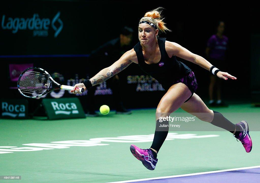 BNP Paribas WTA Finals: Singapore 2015 - Day One : News Photo