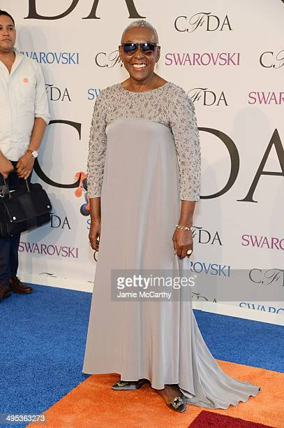 Bethann Hardison attends the 2014 CFDA fashion awards at Alice Tully Hall Lincoln Center on June 2 2014 in New York City