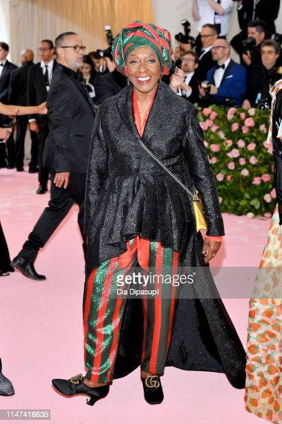 Bethann Hardison attends The 2019 Met Gala Celebrating Camp Notes on Fashion at Metropolitan Museum of Art on May 06 2019 in New York City