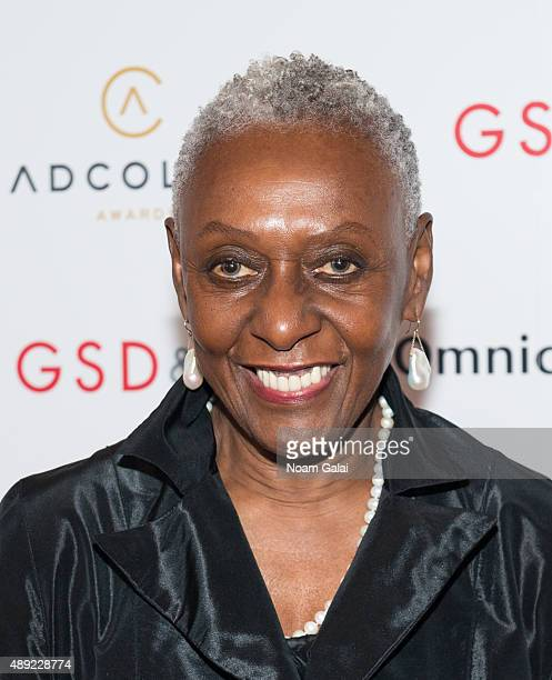 Bethann Hardison attends the 9th Annual ADCOLOR Awards at Pier Sixty at Chelsea Piers on September 19 2015 in New York City