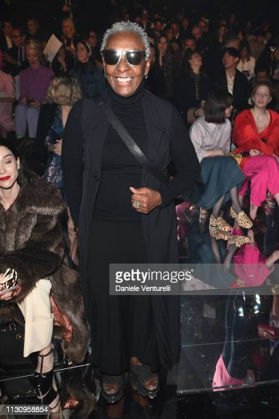 Bethann Hardison attends the Gucci show during Milan Fashion Week Autumn/Winter 2019/20 on February 20 2019 in Milan Italy