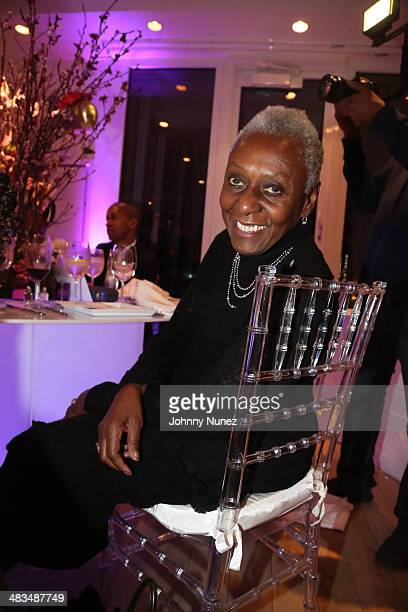 Bethann Hardison attends the Love In The City New York Screening at Mondrian Soho on April 8 2014 in New York City