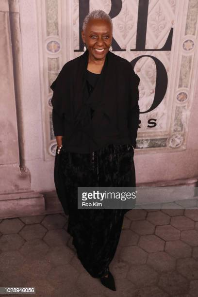 Bethann Hardison attends the Ralph Lauren fashion show during New York Fashion Week at Bethesda Terrace on September 7 2018 in New York City