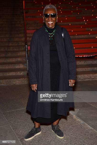 Bethann Hardison attends the Vanity Fair Party during the 2015 Tribeca Film Festival at the New York State Supreme Court Building on April 14 2015 in...