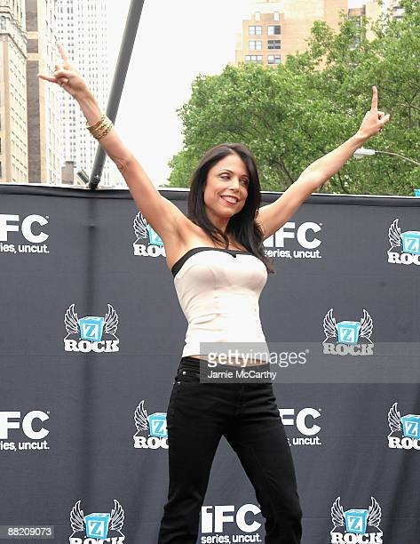 Bethanny Frankel attends America's Hottest Rocker Mom Contest at Madison Square Park on June 3 2009 in New York City