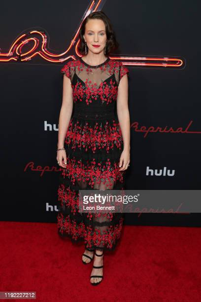 """Bethany Anne Lind attends the premiere of Hulu's """"Reprisal"""" Season One at ArcLight Cinemas on December 05, 2019 in Hollywood, California."""