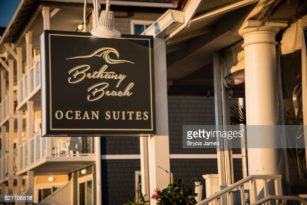 bethany beach ocean suites - bethany beach stock photos and pictures