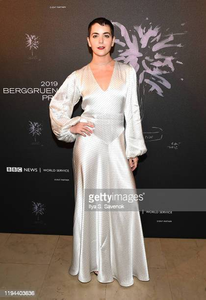 Bethany C Meyers attends the Fourth Annual Berggruen Prize Gala celebrating 2019 Laureate Supreme Court Justice Ruth Bader Ginsburg in New York City...