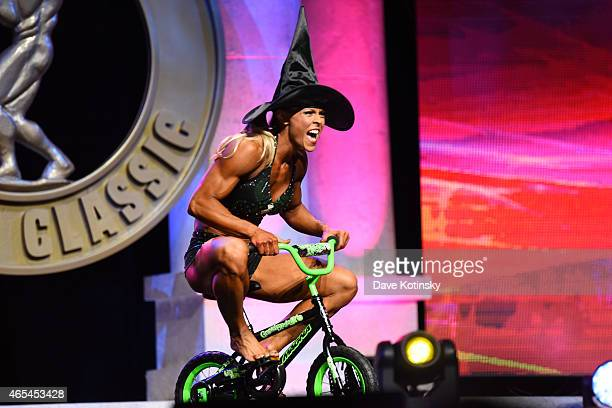 Bethany Cisternino competes in the Fitness International Category at the Arnold Sports Festival 2015 Day 2 on March 6 2015 in Columbus Ohio