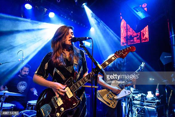 Bethany Cosentino and Bobb Bruno of Best Coast perform on stage at Bitterzoet on November 4 2015 in Amsterdam Netherlands