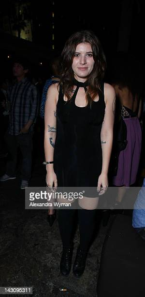 Bethany Cosentino at The Nasty Gal Relaunch Celebration held at The Hollywood Roosevelt Hotel on April 18 2012 in Hollywood California