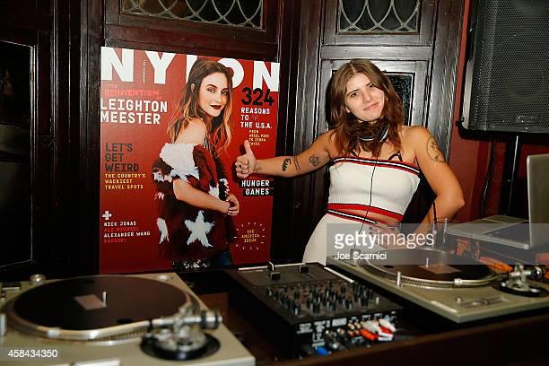 Bethany Cosentino attends NYLON Magazine's American Issue Celebration at No Vacancy on November 4 2014 in Los Angeles California
