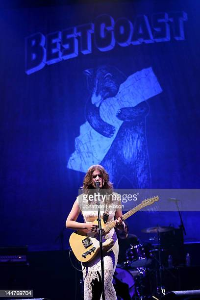 Bethany Cosentino of Best Coast performs at The Wiltern on May 18 2012 in Los Angeles California