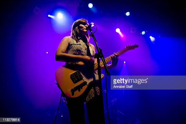 Bethany Cosentino of Best Coast performs on stage at KOKO on April 29 2011 in London United Kingdom