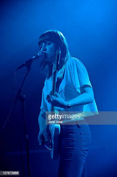 Bethany Cosentino of Best Coast performs on stage at Razzmatazz on December 17 2010 in Barcelona Spain