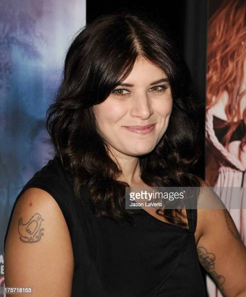 Bethany Cosentino of the band Best Coast attends the premiere of The Canyons at The Standard Hotel on August 6 2013 in Los Angeles California