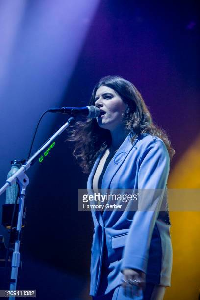 Bethany Cosentino of the band Best Coast Performs At The Novo at The Novo by Microsoft on February 28, 2020 in Los Angeles, California.