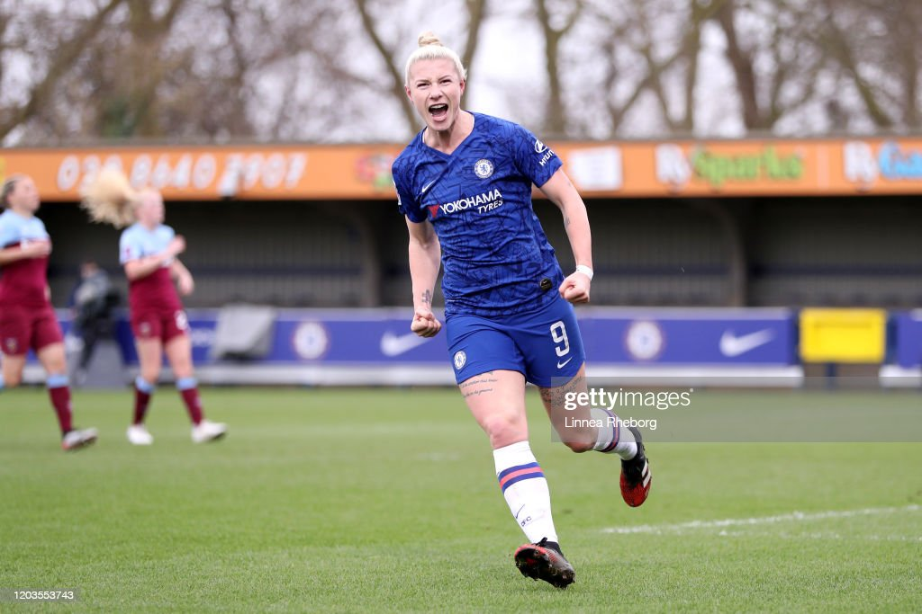 Chelsea v West Ham United - Barclays FA Women's Super League : News Photo