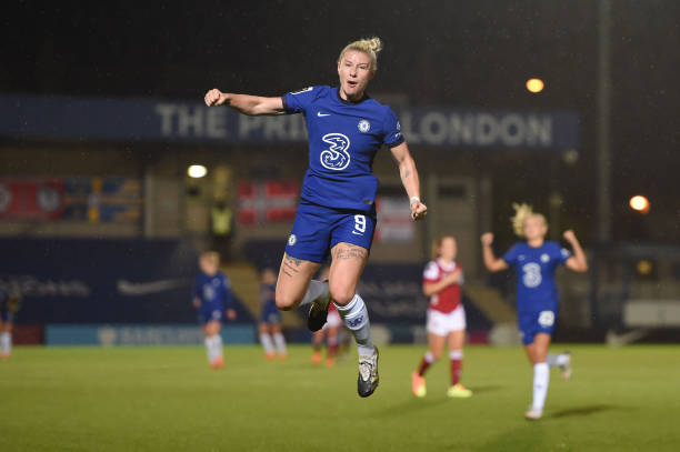 GBR: Chelsea v Arsenal - FA Women's Continental League Cup
