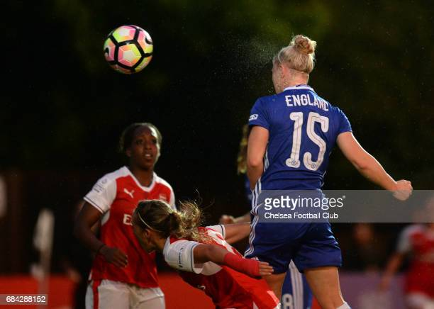 Bethany England of Chelsea during a WSL 1 match between Chelsea Ladies FC and Arsenal Ladies FC on May 17 2017 in Staines England