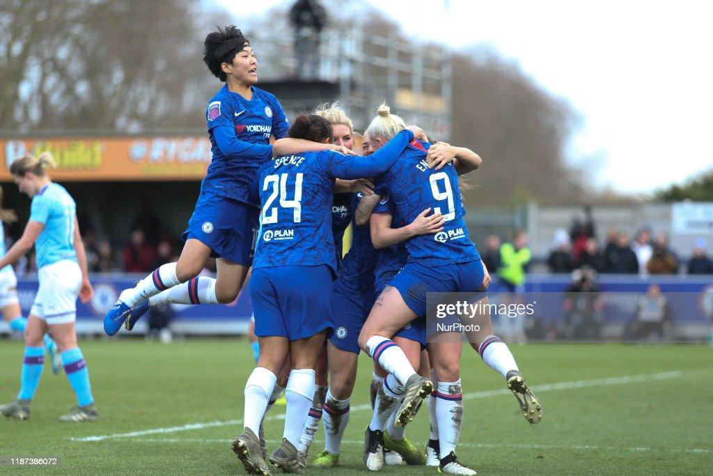 Chelsea v Manchester City - Barclays FA Women's Super League : ニュース写真