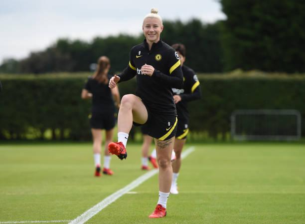GBR: Chelsea Women Training Session