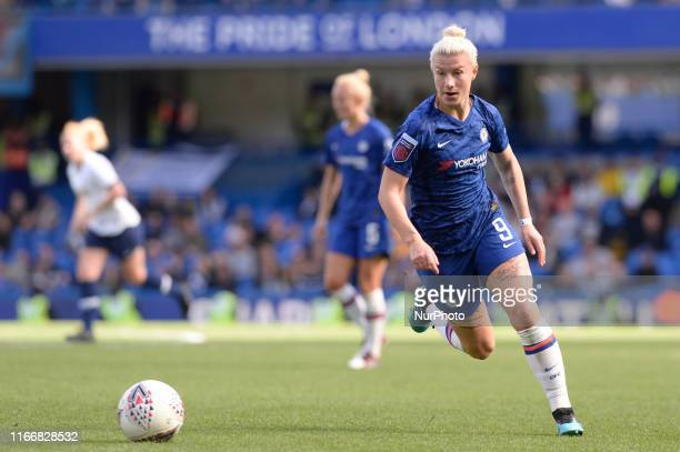 Bethany England of Chelsea Women in action during the Barclays Womens Super League match between Chelsea Women and of Tottenham Hotspur Women at...