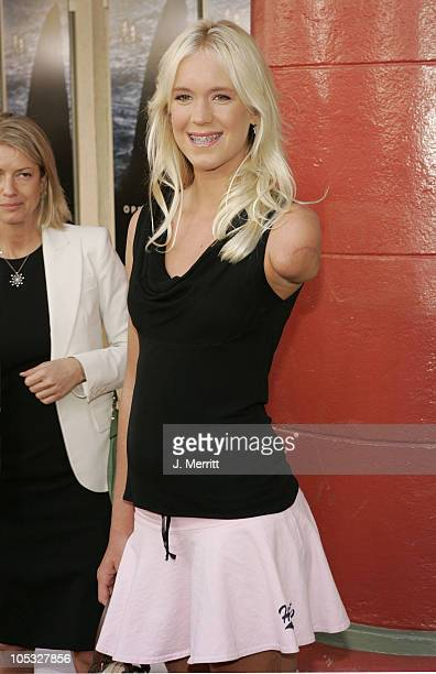 Bethany Hamilton during 'Open Water' Los Angeles Premiere at The Mann Festival Theatre in Westwood California United States