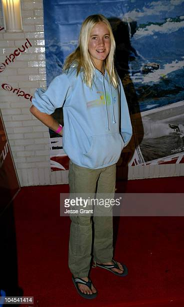 Bethany Hamilton during Rip Curl Santa Monica Store Grand Opening at Rip Curl Santa Monica in Santa Monica California United States