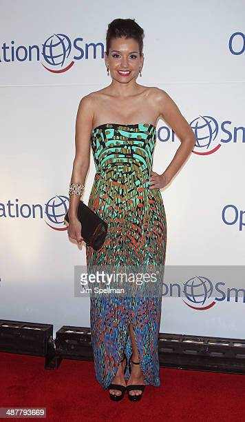 Bethany Hotchkiss attends the Operation Smile's Smile Event at Cipriani Wall Street on May 1 2014 in New York City