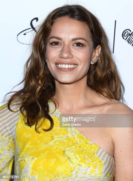 Bethany Joy Lenz arrives at the Marie Claire's 5th Annual 'Fresh Faces' at Poppy on April 27 2018 in Los Angeles California