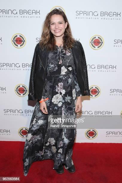 Bethany Joy Lenz attends City Year Los Angeles' Spring Break Destination Education at Sony Studios on April 28 2018 in Los Angeles California