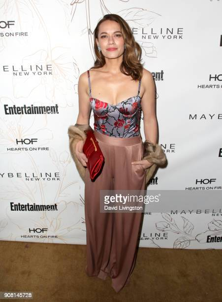 Bethany Joy Lenz attends Entertainment Weekly's Screen Actors Guild Award Nominees Celebration sponsored by Maybelline New York at Chateau Marmont on...