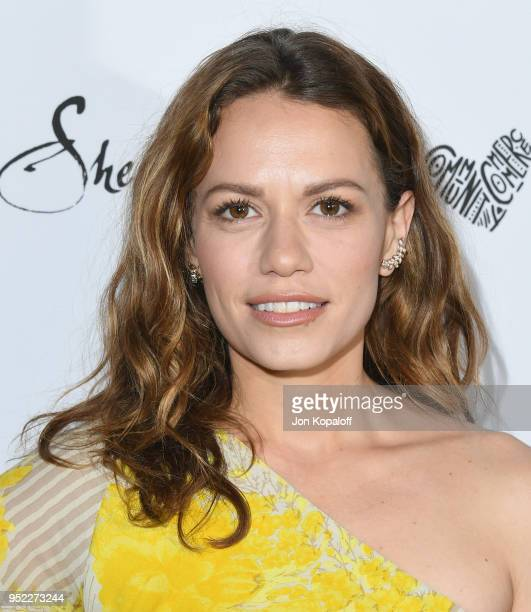 Bethany Joy Lenz attends Marie Claire's 5th Annual 'Fresh Faces' at Poppy on April 27 2018 in Los Angeles California