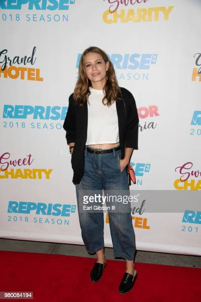Bethany Joy Lenz attends Reprise 20 Presents 'Sweet Charity' Opening Night Performance at Freud Playhouse UCLA on June 20 2018 in Westwood California