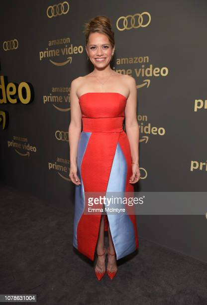 Bethany Joy Lenz attends the Amazon Prime Video's Golden Globe Awards After Party at The Beverly Hilton Hotel on January 6 2019 in Beverly Hills...