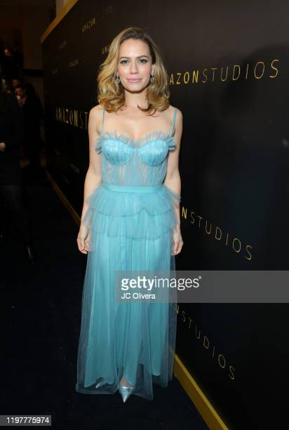 Bethany Joy Lenz attends the Amazon Studios Golden Globes After Party at The Beverly Hilton Hotel on January 05, 2020 in Beverly Hills, California.