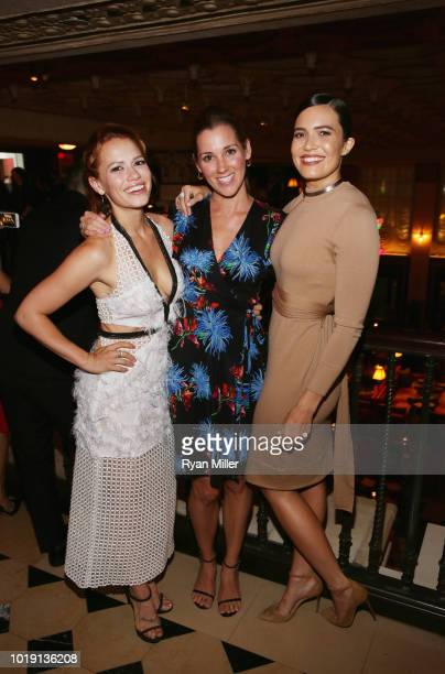Bethany Joy Lenz Carly Craig and Mandy Moore attend Harper's BAZAAR and the CDG celebrate Excellence in Television Costume Design with the Emmy...
