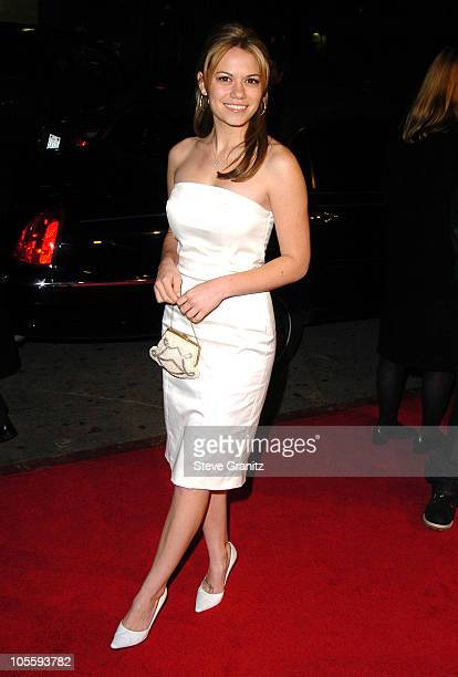 Bethany Joy Lenz during 'Coach Carter' Los Angeles Premiere Arrivals at Grauman's Chinese Theatre in Hollywood California United States