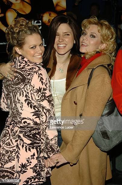 Bethany Joy Lenz Sophia Bush and Hilarie Burton during The Cast of One Tree Hill Signs Their DVD and Soundtrack CD at FYE in New York City at FYE in...